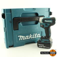 Makita DTW181 Slagmoersleutel met 1 Accu Acculader Doppen en Koffer