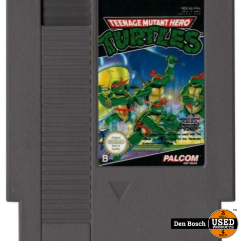 Teenage Mutant Hero Turtles - NES Game