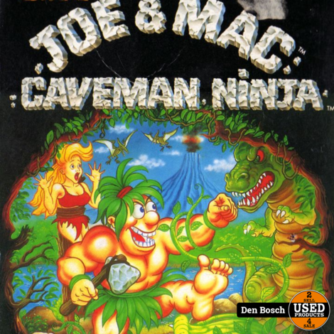Joe & Mac Caveman Ninja - NES Game