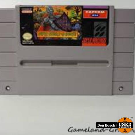 Super Ghouls'n Ghosts - SNES Game Amerikaans