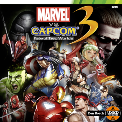 Marvel vs Capcom 3 Fate of Two Worlds- Xbox360 Game(Sealed)