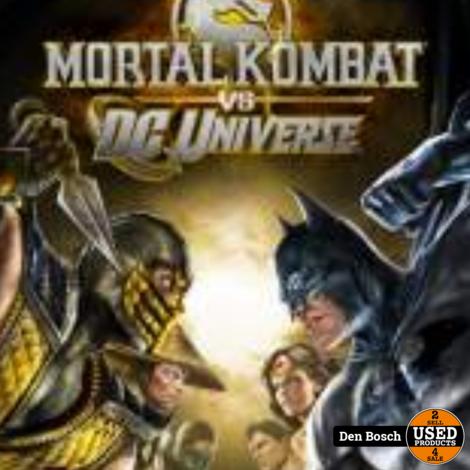 Mortal Kombat vs DC Universe - Xbox360 Game