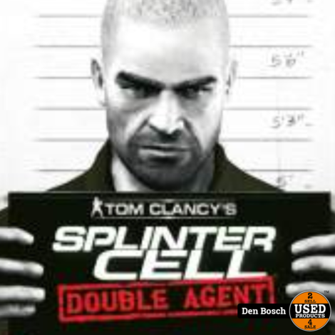 Splinter Cell Double Agent - Wii Game