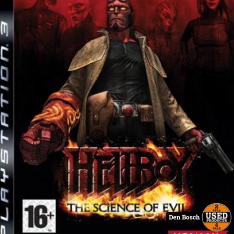 Hellboy the Science of Evil- PS3 Game