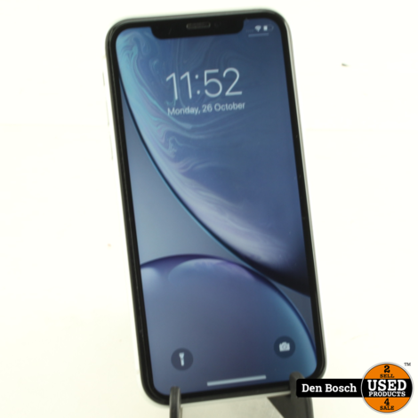 Apple iPhone Xr 128GB White met 3 Maanden Garantie