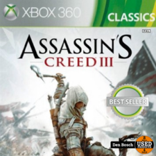 Assassin's Creed III - XBox 360 Game