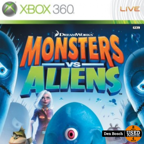 Monsters vs Aliens - XBox 360 Game