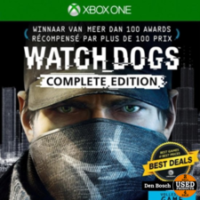 Watch Dogs Complete Edition - XBox One Game
