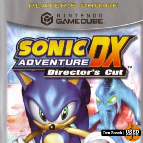 Sonic Adventure DX Director's Cut - Gamecube Game