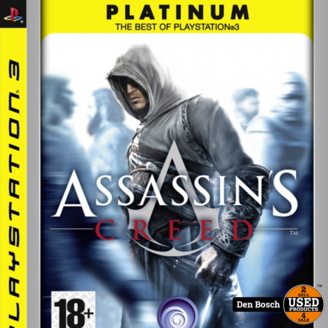 Assassin's Creed platinum - PS3 Game