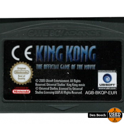 King Kong (losse cassette) - GBA Game