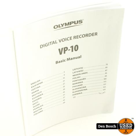Olympus VP-10 Voicerecorder 4GB