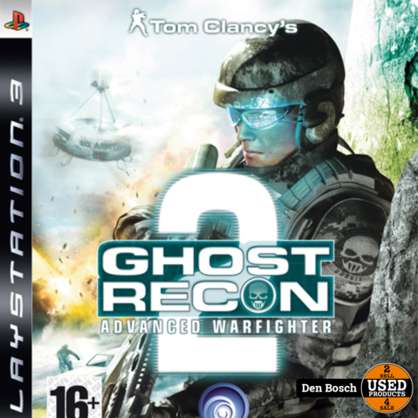 Ghost Recon 2 Advanced Warfighter - PS3 Game