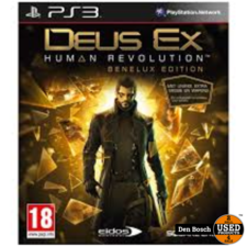Deus Ex Human Revoltion Benelux Edition - PS3 Game