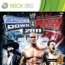 Smack Down VS Raw 2011 - XBox 360 Game