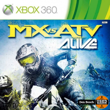 MX vs ATV Alive - XBox 360 Game