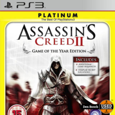Assassin's Creed II platinum - PS3 Game