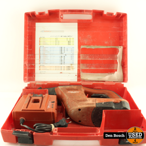 Hilti WSR 650-A Reciprozaag + 1 Accu, Lader en Koffer