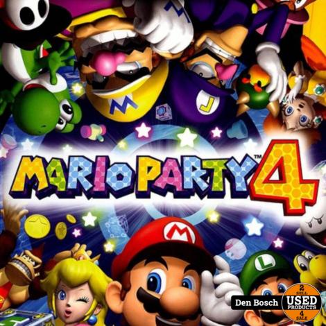 Mario Party 4 - GC Game