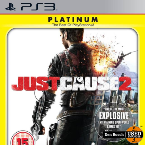 Just Cause 2 Platinum - PS3 Game