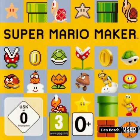 Super Mario Maker - WiiU Game