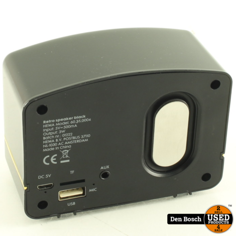 Hema Bluetooth Retro Speaker