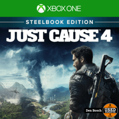 Just Cause 4 Steelbook - XBox One Game