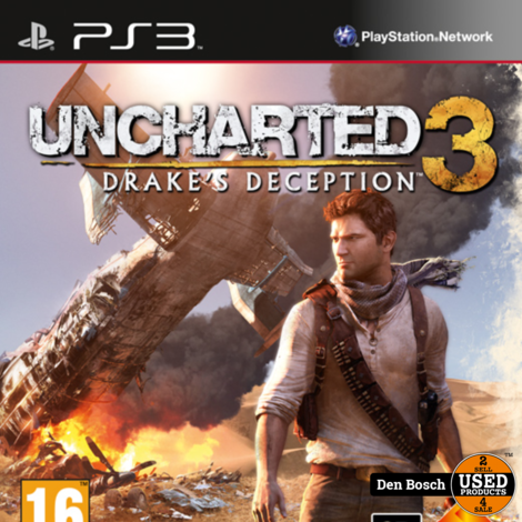 Uncharted 3 Drake's Deception - PS3 Game