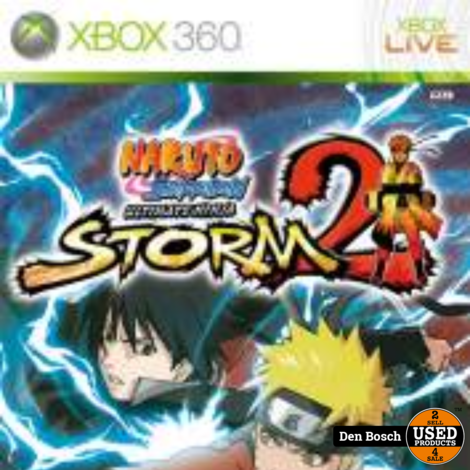 Naruto ShippudenUltimate Ninja Storm 2 - Xbox 360 Game