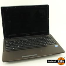 Asus K52F Laptop met Oplader en 3 Maanden Garantie