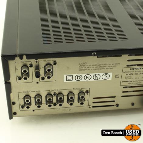 Onkyo A-8057 Versterker met 3 Maanden Garantie