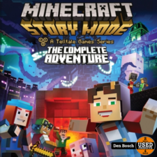 Minecraft Story Mode the Complete Adventure - WiiU Game