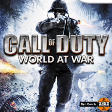 Call of Duty World at War- Wii Game