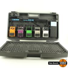 Boss Pedal Set met Boss BCB-60 Pedal Koffer