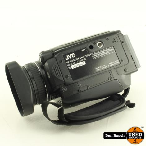 JVC Everio GZ-HD7AG Camcorder met 60GB HDD