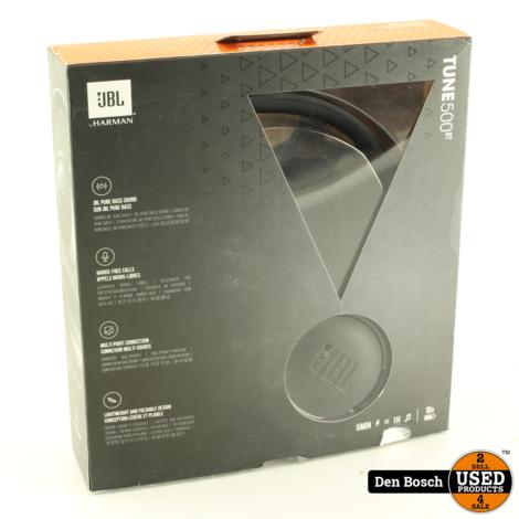 JBL Tune 500BT Zwart Bluetooth Koptelefoon