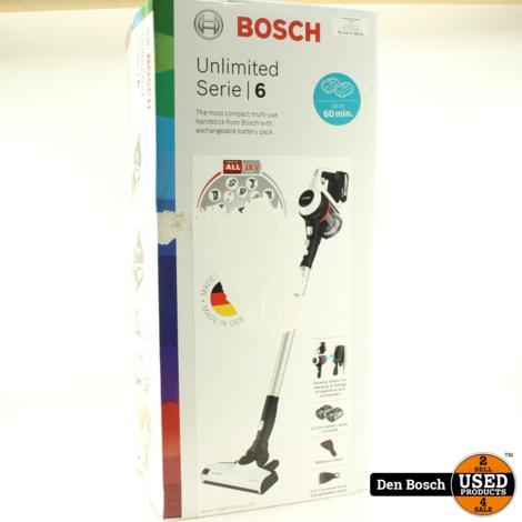 Bosch Unlimited BCS612W Serie 6 Steelstofzuiger