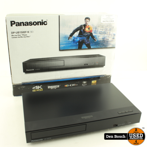 Panasonic DP-UB150EF-K Blu-Ray Speler