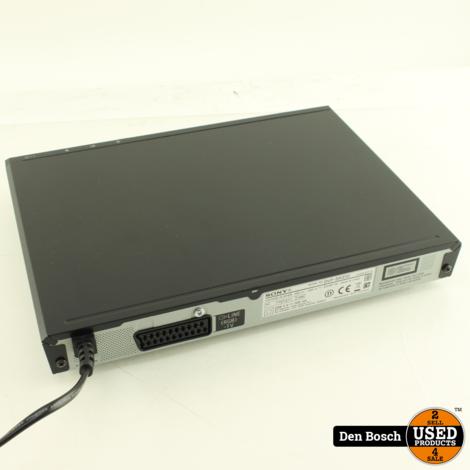 Sony DVP-SR370 - DVD-speler met SCART-aansluiting en USB-ingang.