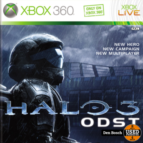 Halo 3 ODST - XBox360 Game