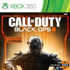 call of duty Black Ops III - XBox360 Game