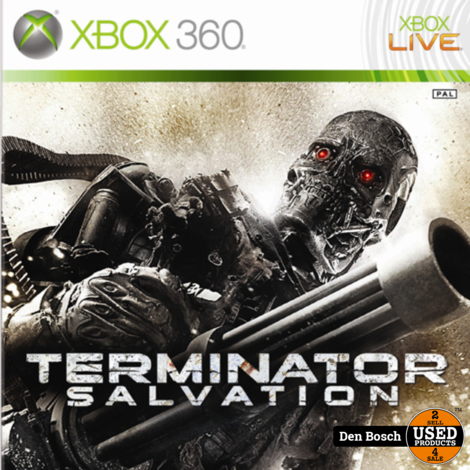 Terminator Salvation - XBox360 Game