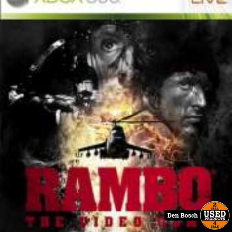 Rambo the videogame - XBox360 Game