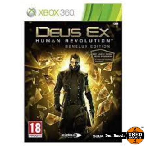Deus ex Human Revolution Benelux Edition - XBox360 Game
