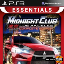 Midnight Club Los Angeles Complete Edition Essentials - PS3 Game