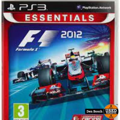 Formula 1 2012 Essentials - PS3 Game