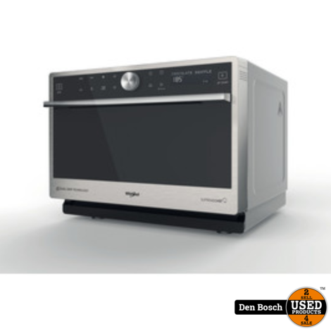 Whirlpool Supreme Chef MWPN 3391 SX - Combi-magnetron met Stoomfunctie