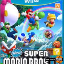 New Super Mario Bros U. - WiiU Game
