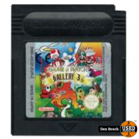 Game & Watch Gallery 3 - GB Game
