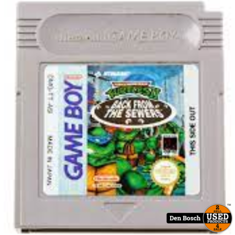 Turtles Back From The Sewers - GB Game